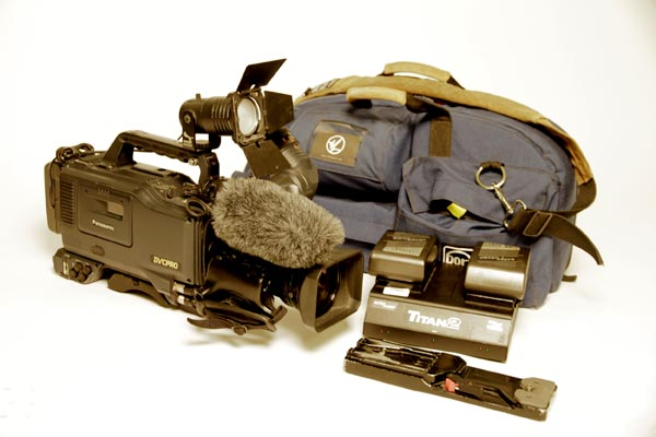 Professional Panasonic Camcorder Package (Panasonic AJ-SDC615 – DVCPRO)