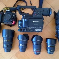 Cinematic kit with Nikon mount and lenses